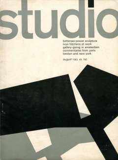 modernist graphics by David Pelham for 1960s Studio magazine