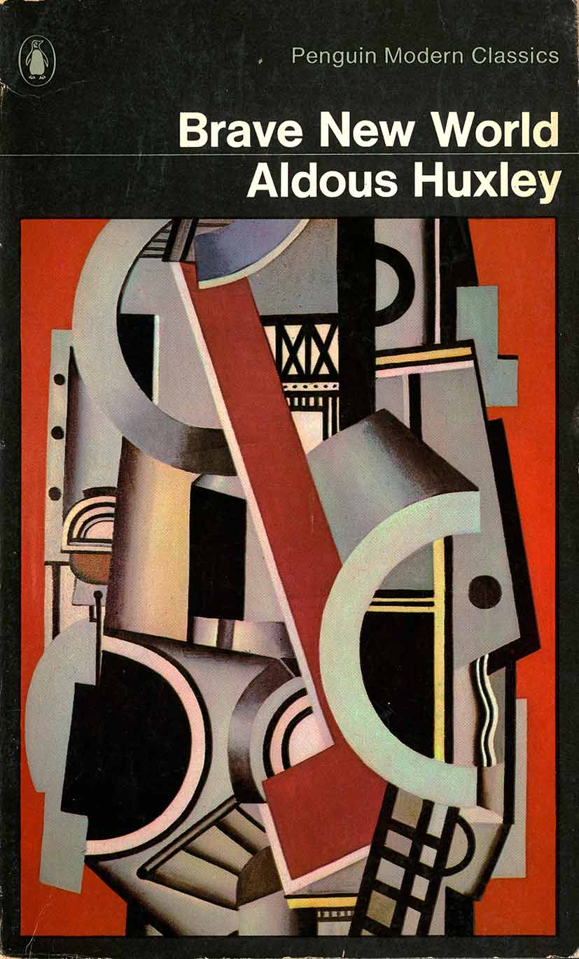 Fernand Leger painting of abstracted mechanical shapes as metaphor for futuristic society