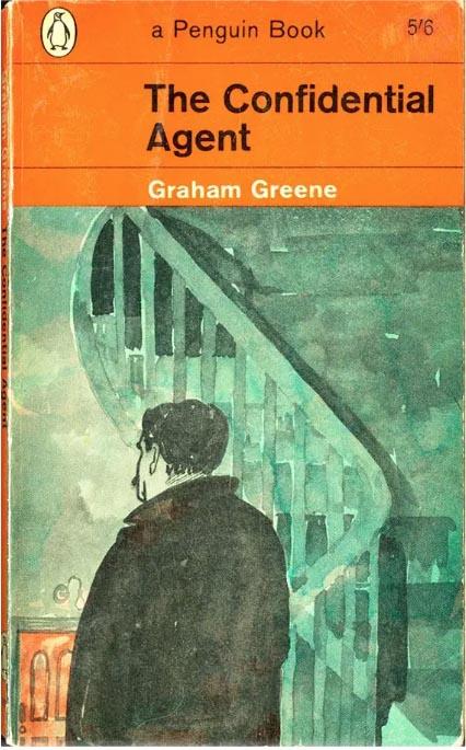 Paul-Hogarth-Graham-Greene-confidential-agent