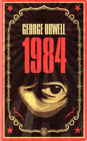 George Orwell's 1984 Penguin cover 2008 by Shephard Fairey