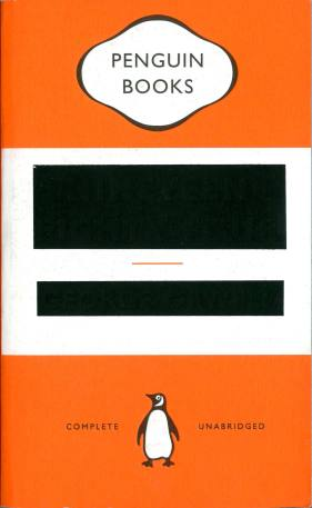 Orwell's 1984 Penguin book cover 2013 by David Pearson