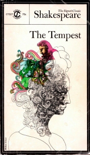 Milton Glaser combines pen & ink drawing with watercolour for Signet Shakespeare books